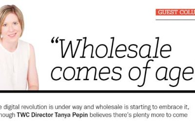 October 2018 – Wholesale News – 'Wholesale comes of age'